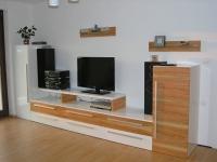 Moderna dnevna soba iz furnirja