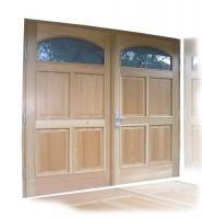 Lesena garazna vrata