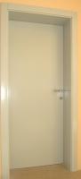Notranja vrata skrita nasadila barvana sivo