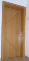 Notranja vrata z letvicami