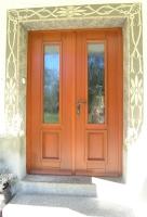 Enostavna vhodna vrata