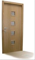 Lesena vhodna vrata hrast