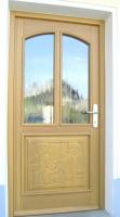Vhodna vrata macesen