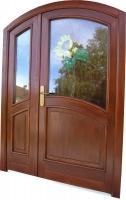 Vhodna vrata z lokom klasik
