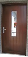 Vrata vhodna steklena